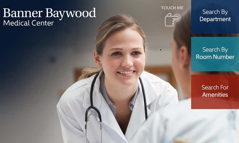 Digital signage solution for Banner Baywood Medical Center