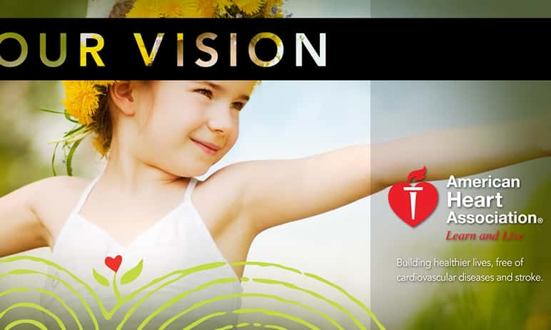 Digital signage solution for American Heart Association