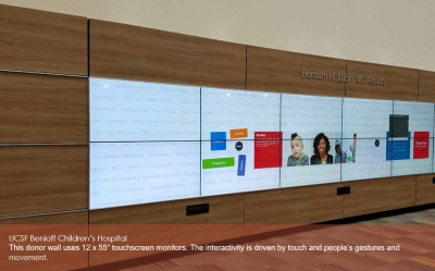 interactive donor recognition